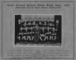 South Auckland 1939 Team Photo
