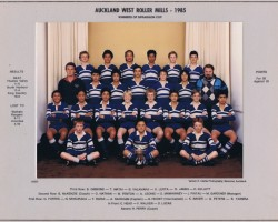 Auckland West 1985