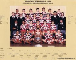 Counties Manukau 1986