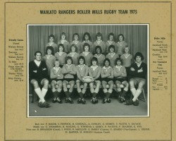 Waikato Rangers 1975