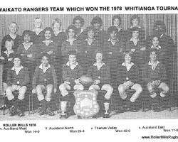 Waikato Rangers 1978