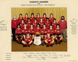 Waikato Rangers 1981