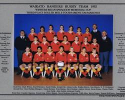 Waikato Rangers 1992